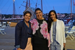 Schooner Festival Mayor Sefatia Rome Theken Reception 2018 copyright Kim Smith - 44