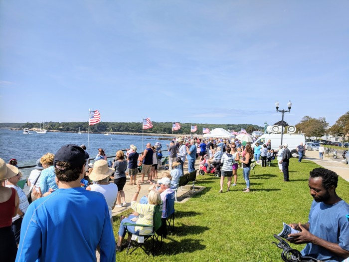 Schooner Parade of Sails Stacy boulevard crowd_20180902©c ryan.jpg