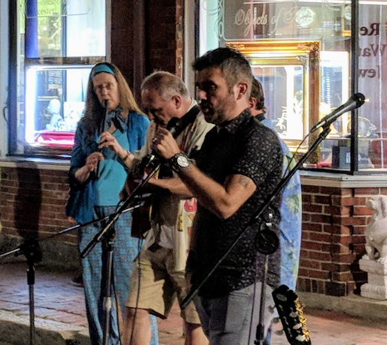 tenor in the streets musicians_killed it summer block party Gloucester Mass_20180831_©c ryan
