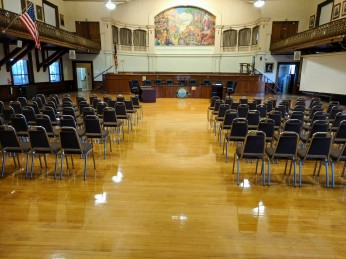 AFTER_floors polished last month_Kyrouz Auditorium City Hall Gloucester MA_20181017 ©c ryan