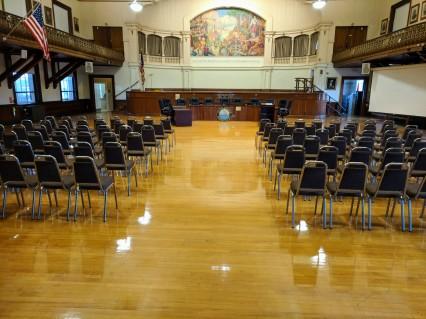 AFTER_floors polished last month_Kyrouz Auditorium City Hall Gloucester MA_20181017 ©c ryan