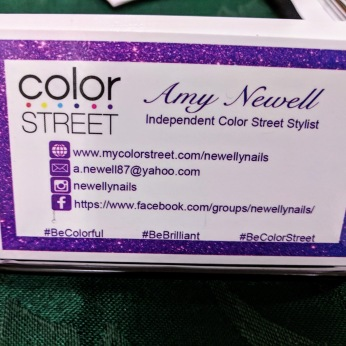 Amy Newell color street nails_ booth at Magnolia sip n stroll October 2018 fair _20181012_© Catherine Ryan (1)