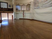 BEFORE_ Kyrouz Auditorium_City Hall_Gloucester MA_DPW preps to sand and buff the floors©c ryan (4)