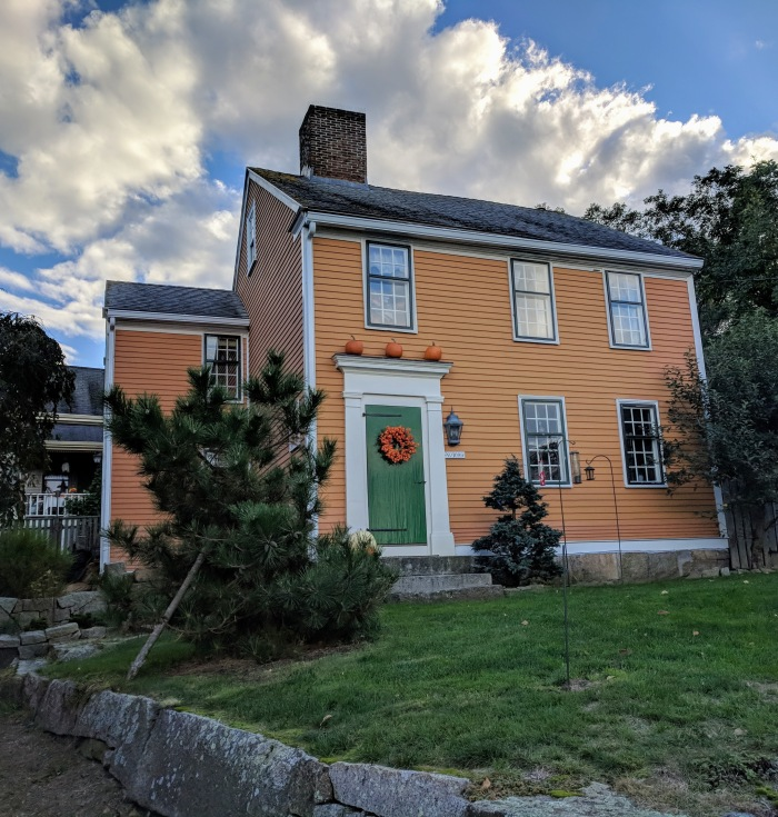 Colors of the season - Fall Gloucester MA homes and vistas ©c ryan 20181020