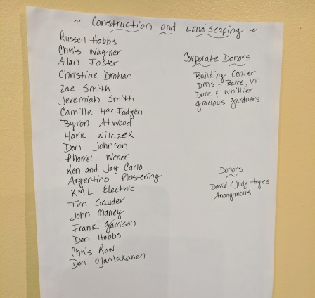 CONSTRUCTION AND LANDSCAPING_volunteers & donations_ Virginia Lee Burton Writing Cottage opens_Lanesville Community Center_Gloucester MA_20181021_© c ryan