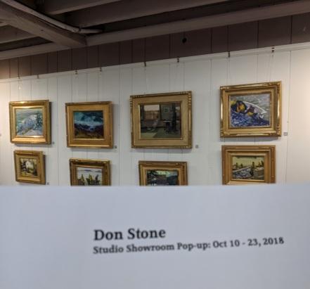 Don Stone at North Shore Art Association_20181014_155303