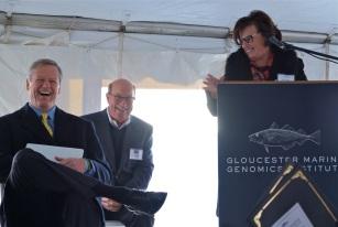 Gloucester Marine Genomics Institure Ribbon Cutting Ceremony copyright Kim Smith - 12