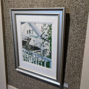 KATHLEEN STAAB_Porch View _wc__20181014_ North Shore Art Assoc Gloucester mass Exhibition IV 2018©Catherine Ryan