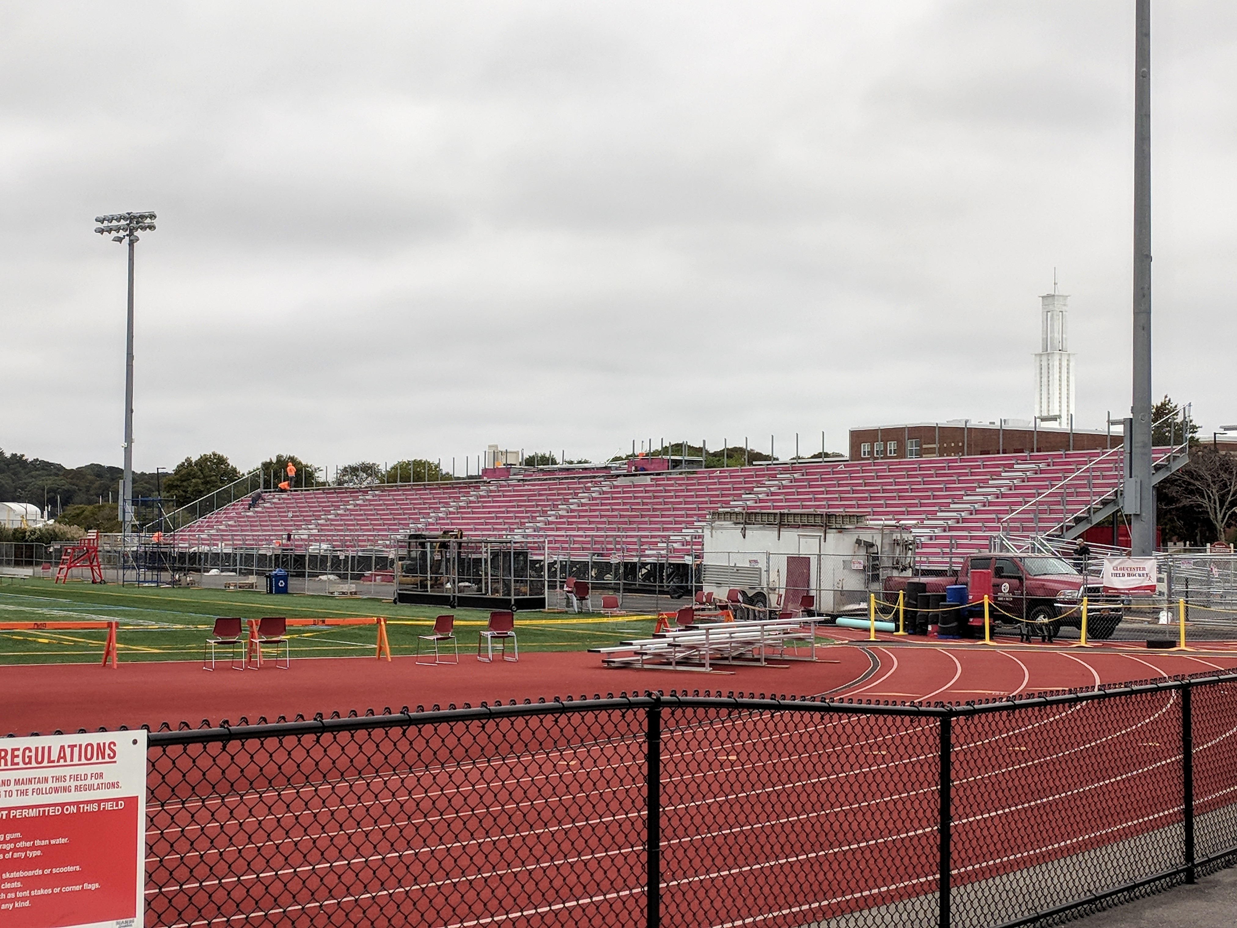 New Balance Newell Stadium stands going back in atop sure footing _20181008_©Catherine Ryan.jpg