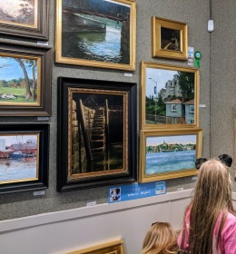 North Shore Art Association various exhibitions including juried Cape Ann Plein Air artists 2018 _20181014_152703 (3)
