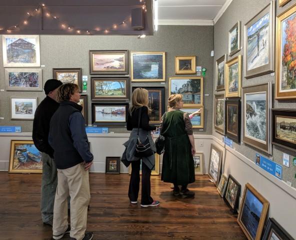 North Shore Art Association various exhibitions including juried Cape Ann Plein Air artists 2018 _20181014_152703 (4)
