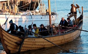 Science Channel Film Crew Maritime Gloucester Polaris Viking Ship -2 copyright Kim Smith