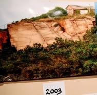 Virginia Lee Burton studio 2003 by Folly Cove overlook ocean_donated resited _Lanesville Community Center_Gloucester MA_20181021_© c ryan