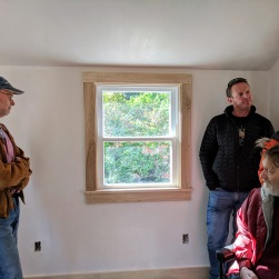Window now where the stove and chimney were_removed asbestos_Virginia Lee Burton Writing Cottage opens_Lanesville Community Center_Gloucester MA_20181021_© c ryan