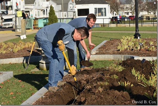 2018 11 7 Gen Gardeners Replanting Tulips 045