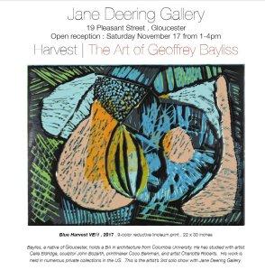 Bayliss at Jane Deering Gallery Gloucester MA Nov 2018