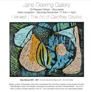 Bayliss at Jane Deering Gallery Gloucester MA Nov 2018