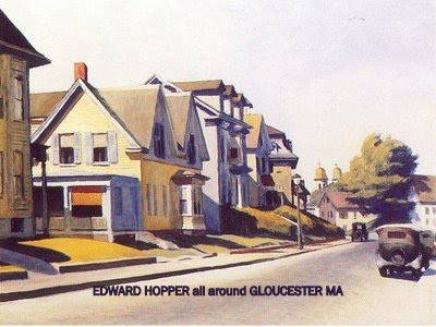 Edward Hopper_Sun on Prospect Street _Cincinnati Art Museum collection