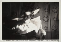 ORESMAN COLLECTION AT DOYLES_Allen Ginsberg WS Burroughs portrait 206 east 7th street
