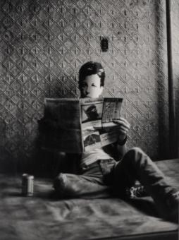 ORESMAN COLLECTION AT DOYLES_David Wojnarowicz arthur rimbaud in ny 1978 POSTHUMOUS PRINT ed 6 printed 2004 est 7000