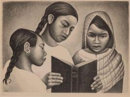 ORESMAN COLLECTION AT DOYLES_elizabeth catlett litho 1950 ed30 16 x 23 est 1000 to 2000