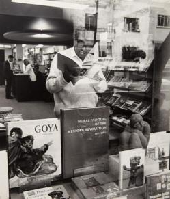 ORESMAN COLLECTION AT DOYLES_GARCIA COBO, HECTOR_Carlos Monsivais Mexican Writer_1968 vintage gelatin silver print