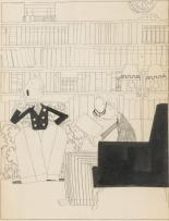 ORESMAN COLLECTION AT DOYLES_john held the highbrow 1919 12 x 7 est 7 to 900