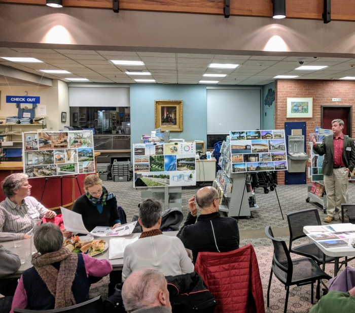 Sawyer Free Library moves forward on new building plans_another phase to Dore Whittier consultants_20181115_© c ryan (3)