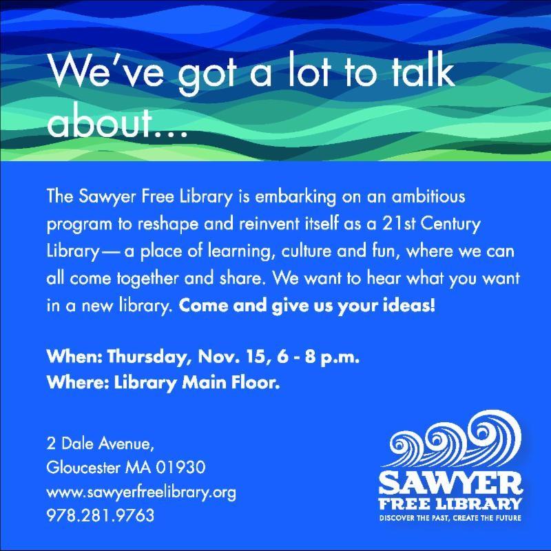 Sawyer Free meeting notice November 2018