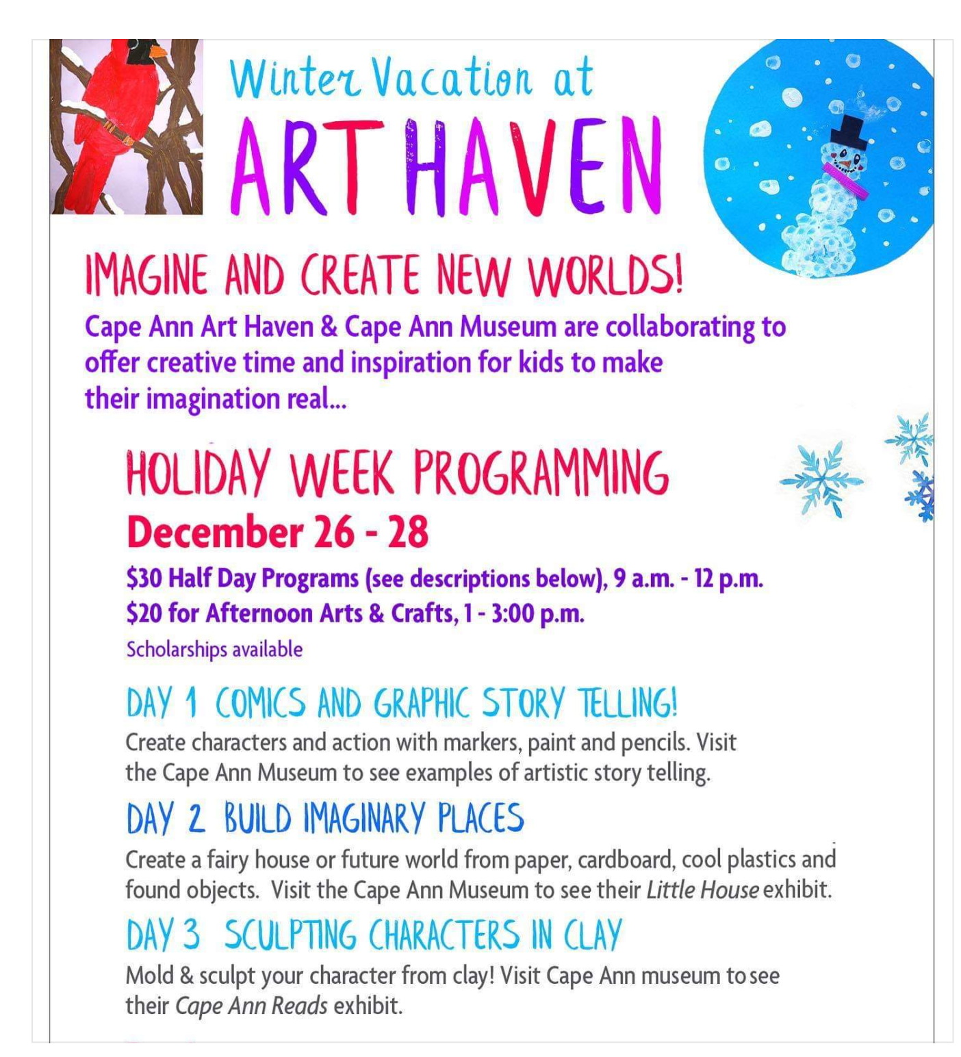 Cape Ann Art Haven Cape Ann Museum 2018