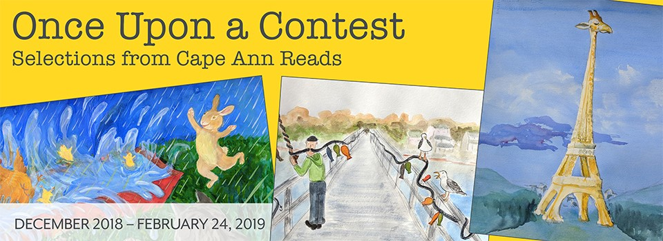 Cape Ann Museum Meredith Anderson designed header for Once Upon a Contest