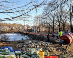 Gloucester MA DPW Days Pond stone work Dec 2018 (4)