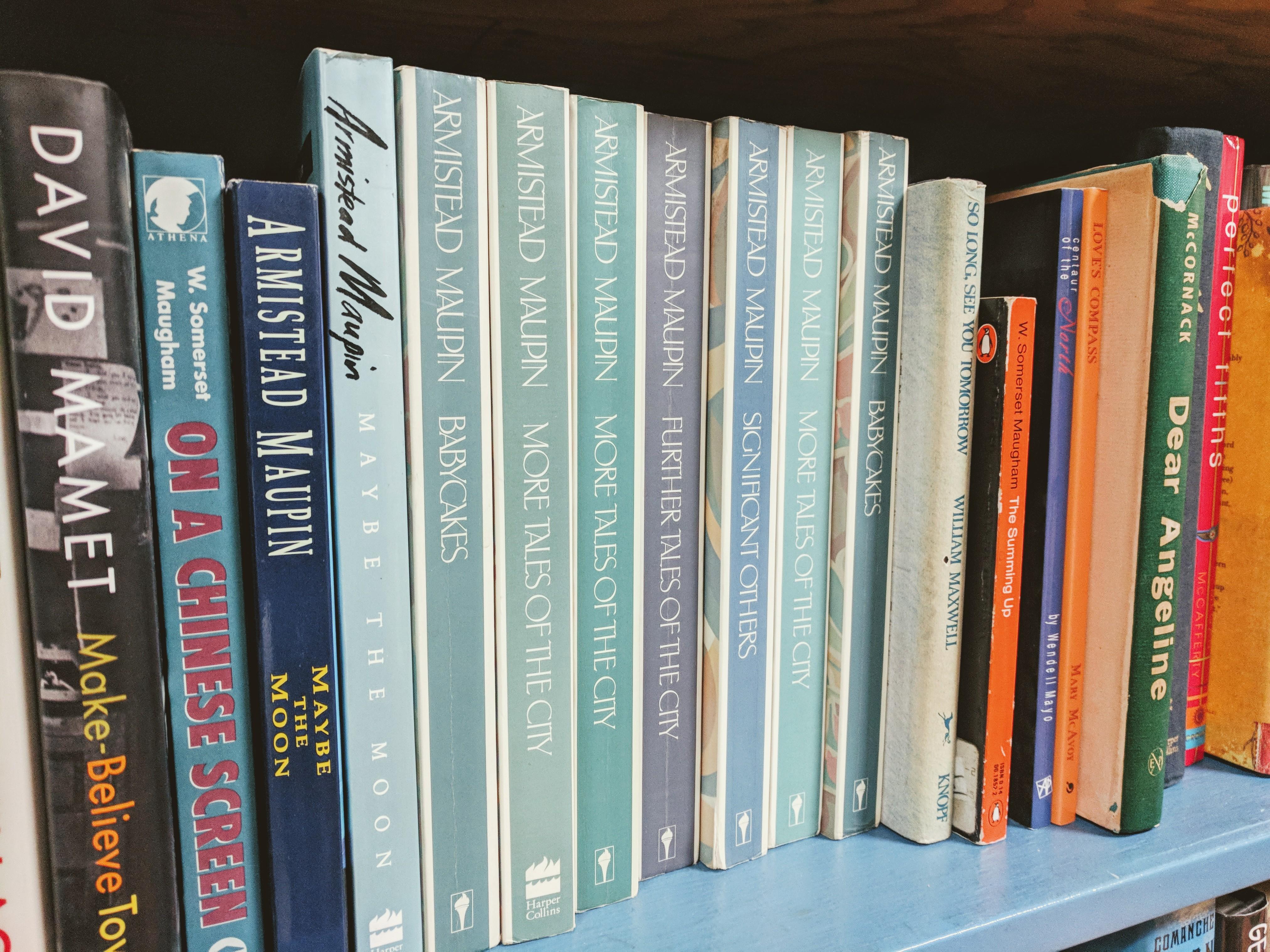 Armistead Maupin anyone _detail from M shelf at Dogtown Book shop Gloucester MA_20181201_©c ryan.jpg