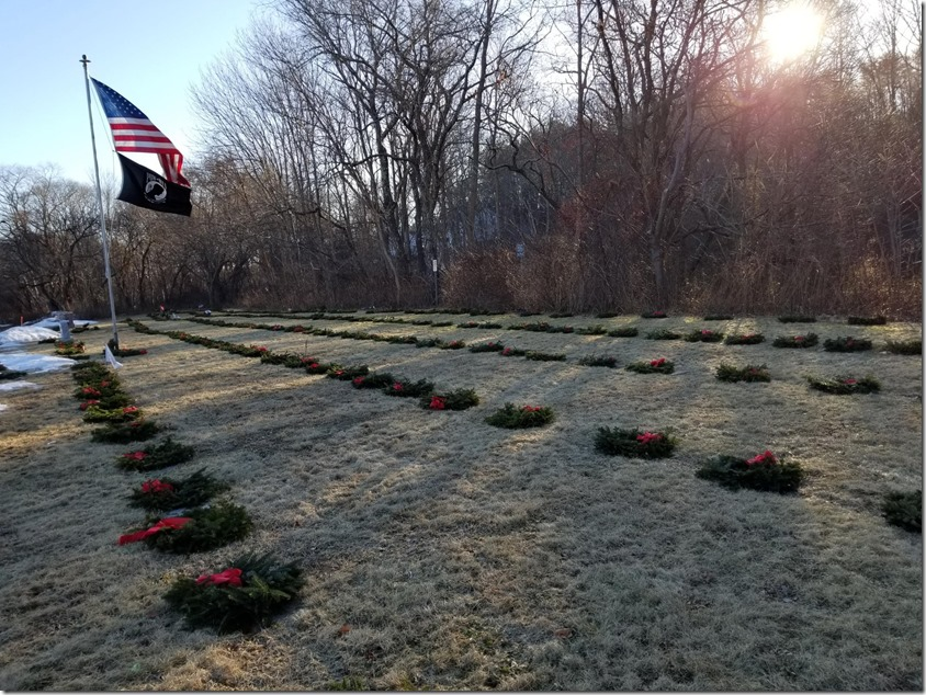 Picture of Laid wreaths 2017