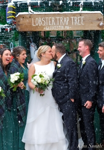 wedding-kiss-lobster-trap-tree-gloucester-ma-4-copyright-kim-smith