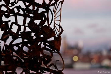 Whale Tail Dive Deep Within Deborah Redmond Sculpture Paint Factory Gloucester Massachusetts -5 copyright Kim Smith