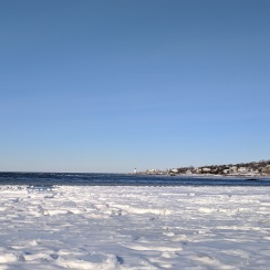 after the first winter storm_view from wingaersheek beach across to annisquam light_gloucester mass_20190122_© catherine ryan