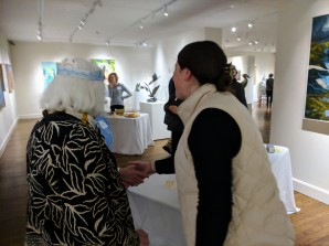 betty allenbrook wiberg with courtney richardson cape ann museum reception for_ once upon a contest selections from cape ann reads_ january 5 2019 gloucester ma (2)