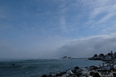brace cove sea smoke gloucester massachusetts winter storm 2019 copyright kim smith - 09