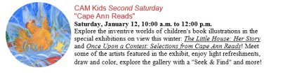 cam kids second saturday cape ann reads