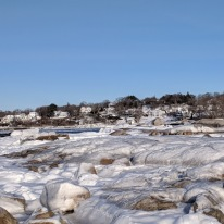 can you spot your favorite summer boulder_wingaersheek beach gloucester mass after first winter storm 2019 © catherine ryan