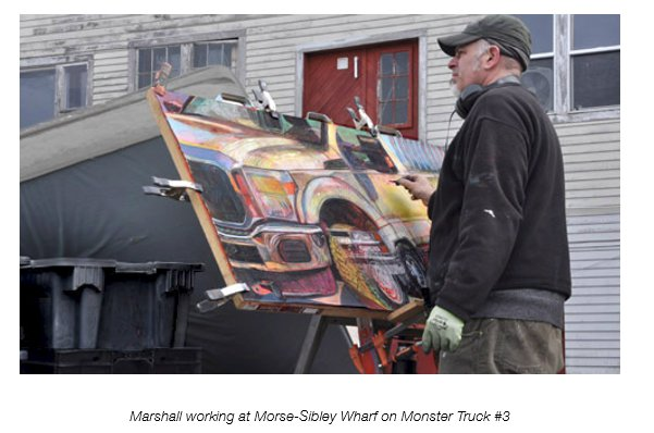 courtesy photos of Marshall working at MOrse-Sibley Wharf on Monster Truck #23.jpg