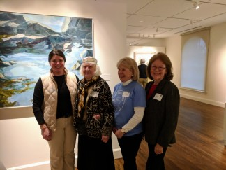 courtney, betty, deborah, jean_cape ann museum reception for_ once upon a contest selections from cape ann reads_ january 5 2019 gloucester ma (4)