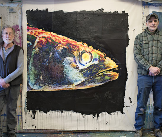 gloucester marine genomics institute_gmgi_acquires original art by jon sarkin r and paul cary goldberg l_big-boy-fish-head-548x465_gloucester_ma