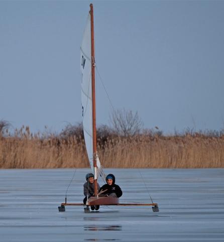 ice sailing niles pond copyright kim smith - 11