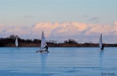 ice sailing niles pond january -4 copyright kim smith