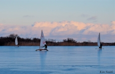 ice sailing niles pond january -4 copyright kim smith