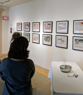 installation view dorothy arnold_aka doffie_sky horizon light perspectives of crane beach_at cape ann museum_gloucester ma_20181205_© c ryan
