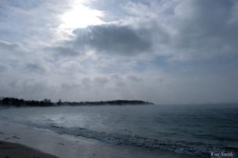 niles beach sea smoke gloucester massachusetts winter storm 2019 copyright kim smith - 03