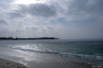niles beach sea smoke gloucester massachusetts winter storm 2019 copyright kim smith - 04